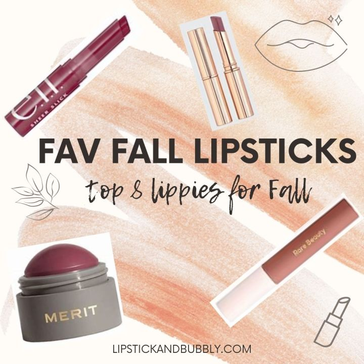 Fall Lipstick Roundup – Top 8 Wearable Shades forFall